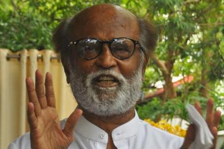 Indian action hero Rajinikanth enters political fray