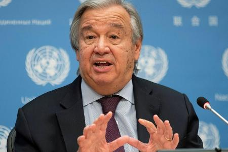 UN chief on climate change: Stop the plunder, begin the healing