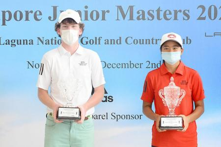 Teenage golfers to the fore at Laguna