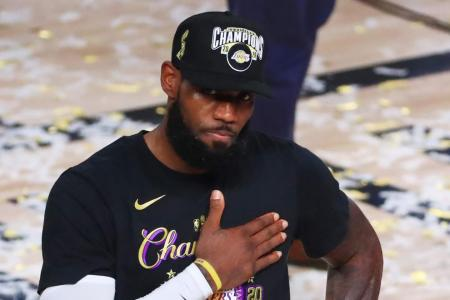 LeBron James extends Lakers deal, Anthony Davis set to follow