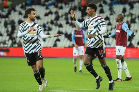 Solskjaer hails United's second-half showing in comeback win