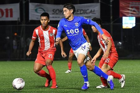 Gabriel Quak nominated for SPL Best Player award with Plazibat and Doi
