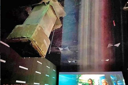Water build-up led to cinema air duct collapse: BCA