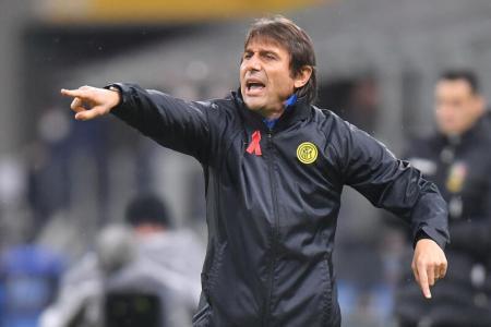 Inter coach Antonio Conte dismisses conspiracy theories