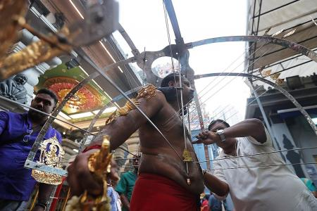 No kavadi procession, but next month's Thaipusam will proceed