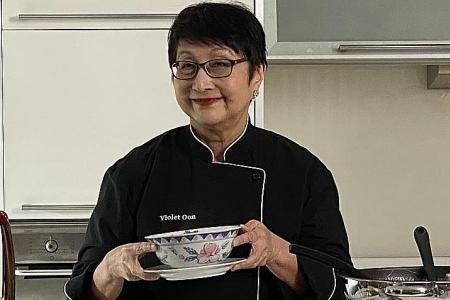 Violet Oon completes bucket list with recipes for stroke survivors