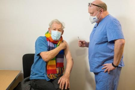Ian McKellen, 81, euphoric after receiving Covid-19 vaccine