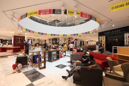 Patrons bid farewell as Robinsons closes flagship store at The Heeren