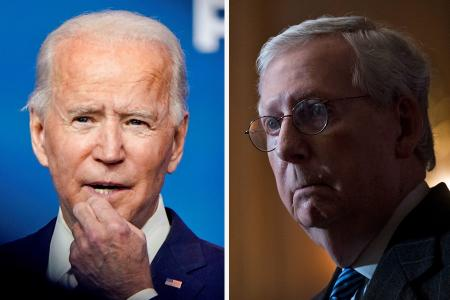 Top Republican McConnell finally acknowledges Biden's victory