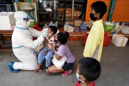 Thailand, Sydney report big spikes in coronavirus cases