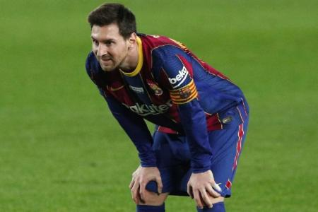 Messi admits failed Barca exit  caused dip in form this season