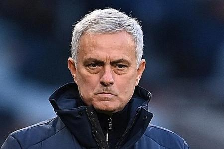 Jose Mourinho again shows little magnanimity in defeat