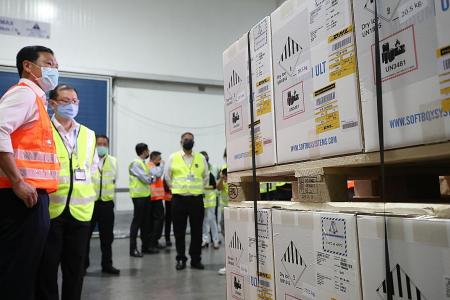 First batch of Covid-19 vaccine arrives in Singapore