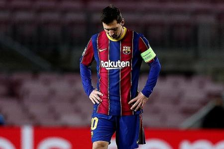 It's horrible to play without fans: Lionel Messi
