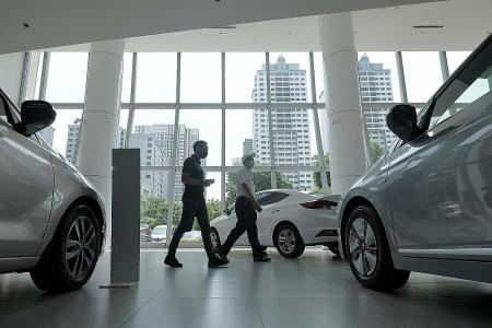 COE premiums mostly higher as dealers make final push for sales