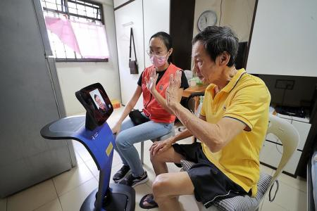 Hospital trials virtual consults for housebound seniors using robots