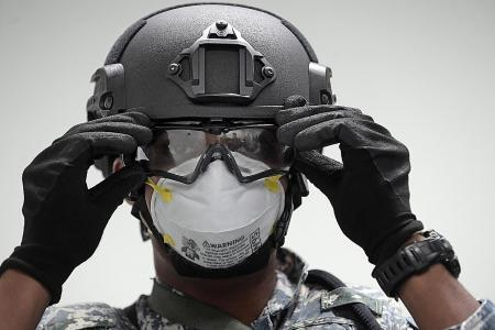 Navy protects Singapore waters amid pandemic and rising piracy