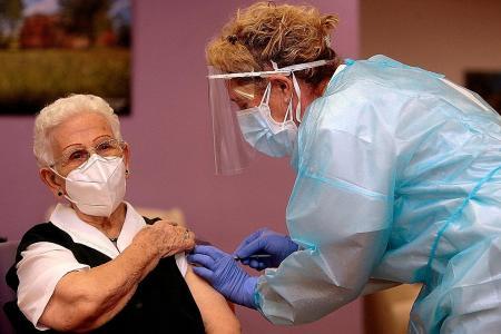 Europe launches massive Covid-19 vaccination drive