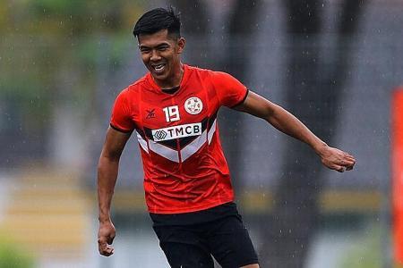 Khairul Amri to give Tanjong Pagar United extra firepower