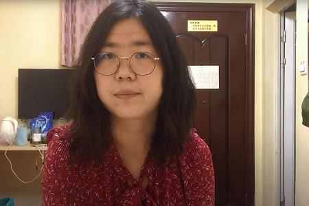 China jails citizen journalist for early Wuhan outbreak reports