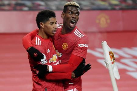Man United go second as Rashford's late winner sinks Wolves
