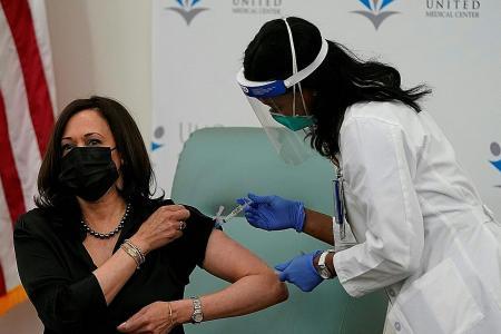 Biden criticises Trump over slow Covid-19 vaccine rollout