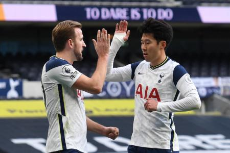 Son Heung-min scores 100th goal as Spurs go back to winning ways