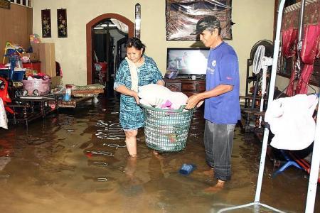 Over 5,000 displaced by Johor floods