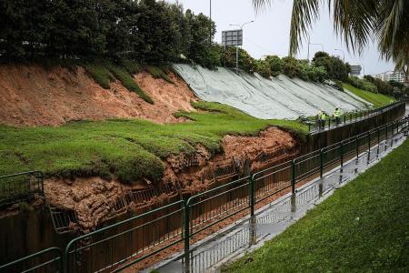 Rain finally eases and work to repair damage kicks off