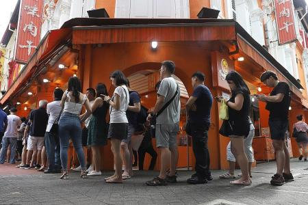 No lengthy queues outside Lim Chee Guan outlets this CNY