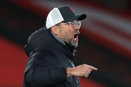 Juergen Klopp's strop over Man United's spot-kicks: Richard Buxton