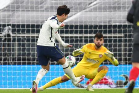 Sissoko and Son fire Spurs into League Cup final