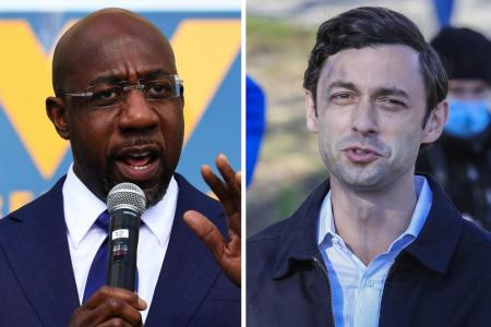 Democrats win one seat, lead in another in US Senate runoffs: Reports