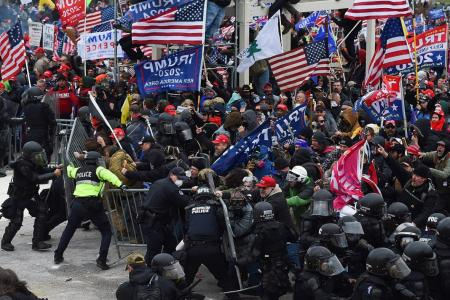 Washington mob chaos leaves image of 'exceptional' US in tatters