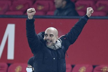 Guardiola delighted as Man City close in on 4th straight League Cup
