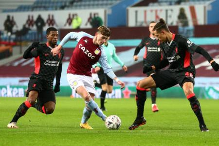 Covid-19 outbreak forces Villa to field academy players as Liverpool progress