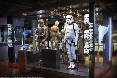 No Baby Yoda in Star Wars exhibition?