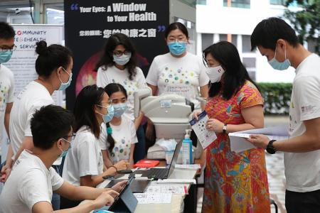 Pilot scheme offers free health tests for those above 50 at Punggol CC