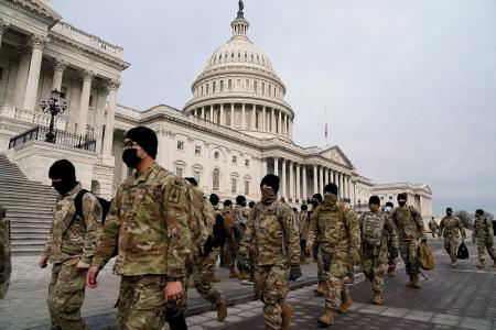 Biden's inauguration: Violence expected in 50 state capitals, says FBI