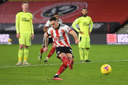 Sheffield United secure first EPL win of the season