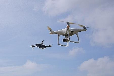 Singapore to set up designated public spaces for drone flying