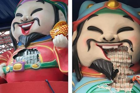 ICA officers find contraband cigarettes in God of Fortune figurines
