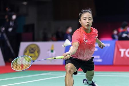 Second-set struggles floor Singapore's Yeo Jia Min in Thailand Open