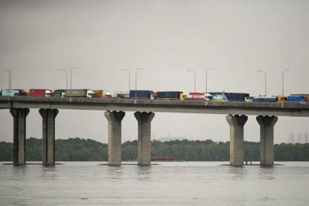 Cargo drivers entering Singapore to take antigen rapid tests