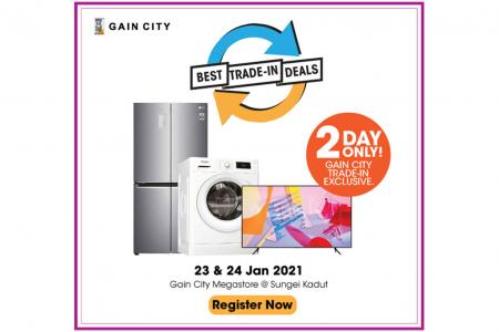 Don't miss terrific trade-in deals at Gain City