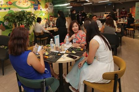 Spice up your shopping with FairPrice Xtra Parkway Parade's local fare
