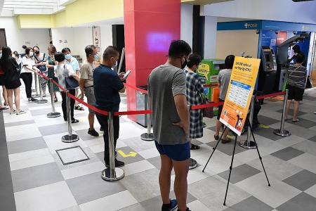 DBS rolls out new measures to reduce long queues for new notes at ATMs