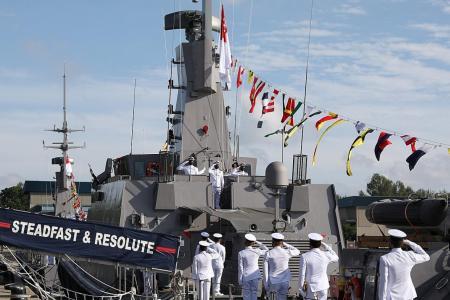 Two refurbished patrol vessels part of new navy flotilla