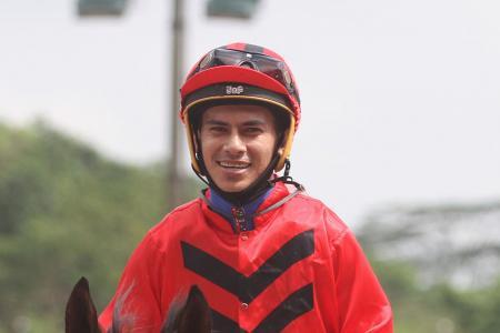 Well done, jockey Shafrizal