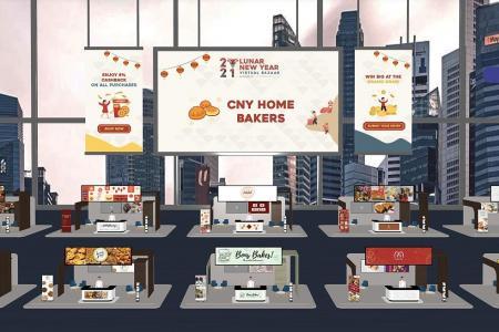 Weaker demand for online CNY bazaars, but organisers, vendors press on